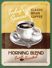 Postershop Plechová cedule 15x20 cm Morning Blend
