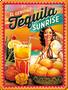 1 - Postershop okrasna tabla Tequila Sunrise 15 x 20 cm