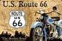1 - Postershop ukrasna tabla U.S. Route 66 20 x 30 cm