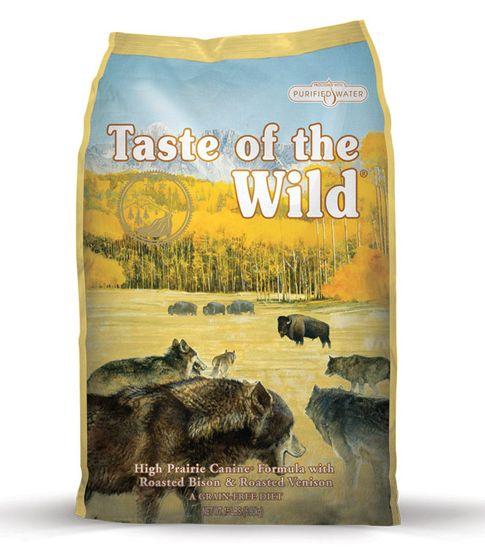 Taste of the Wild High Prairie hrana za pse, pečeni bizon in divjačina, 2 kg