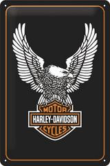Postershop Plechová cedule 20x30 cm Harley-Davidson