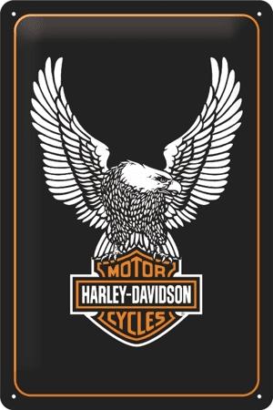 Postershop okrasna tabla Harley-Davidson 20 x 30 cm
