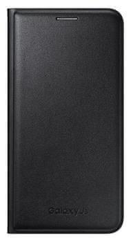 Samsung flipové pouzdro s kapsou, Galaxy J5, černé - II. jakost
