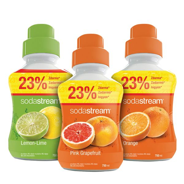 Sodastream Sada Orange/Lemon/Grep 750 ml