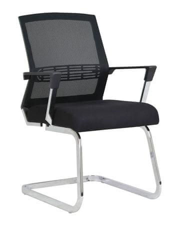 Konferenčni stol Viki, črn