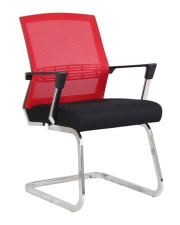 Konferenčni stol Viki, rdeč
