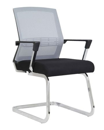 Konferenčni stol Viki, siv