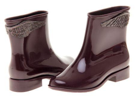 Mel buty za kostkę damskie Goji Berry 35/36 burgund - II. - jakość