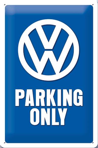 Postershop Mintás dekor tábla 20x30cm,VW Parking O.