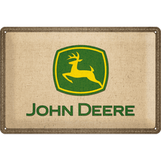 Postershop Plechová cedule 20x30 cm John Deere (záplata)