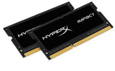 Kingston HyperX Impact RAM pomnilnik, 16GB, DDR3L, črn (HX318LS11IBK2/16)