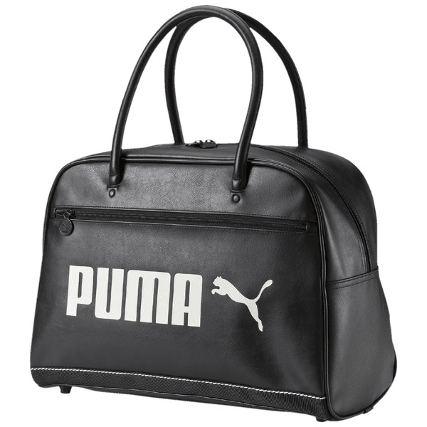 Puma Campus Grip Bag black/whisper white