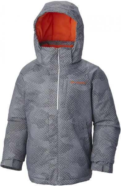 Columbia Evo Fly Tradewinds Grey Print, Tangy Orange XL