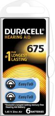 Duracell Hearing Aid, 675, 6ks