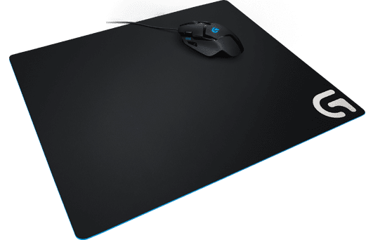 Logitech podloga za miško G640, črna