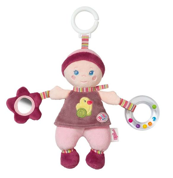BABY born for babies Závěsná panenka s aktivitami pro miminka