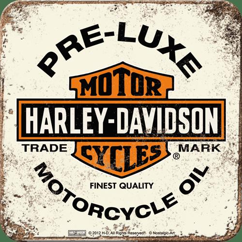 Postershop Sada 5ks plechových tácků Harley-Davidson Motor cycles