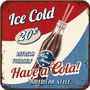 1 - Postershop set podstavkov Ice Cold Cola, 5 kos