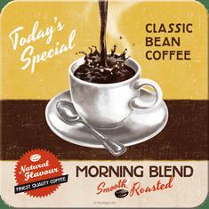 Postershop Sada 5ks plechových tácků Morning Blend