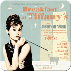Postershop set podstavkov Breakfast at Tiffany's, 5 kos