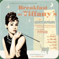 Postershop Sada 5ks plechových tácků Breakfast at Tiffany's