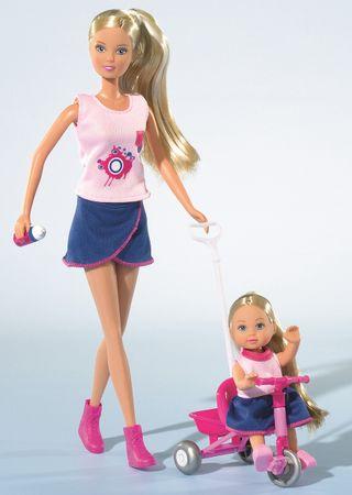 Simba Panenka Steffi a Evička na procházce