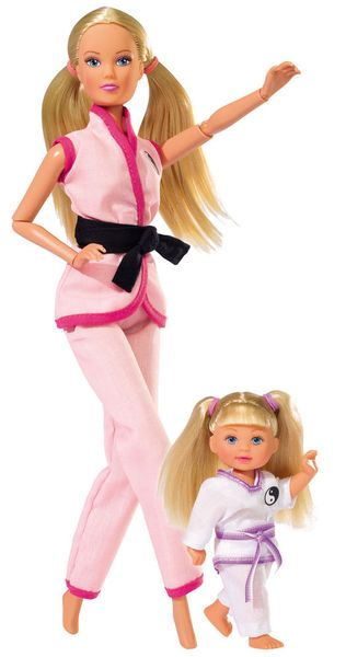 Simba Panenka Steffi a Evička karate