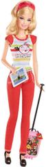 Barbie Bábika Angry Birds červená