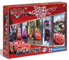 Clementoni Story Puzzle v 8 snímkach Cars 2