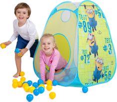 John otroški šotor Pop up Minions + 30 žogic