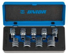 """Unior garnitura nasadnih ključeva 1/2"""" s unutrašnjim TX profilom u metalnoj kutiji - 191MB1 (607314)"""