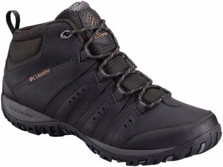 COLUMBIA buty trekkingowe Peakfreak Nomad Chukka WP Omni-Heat Black, Goldenrod 44,5