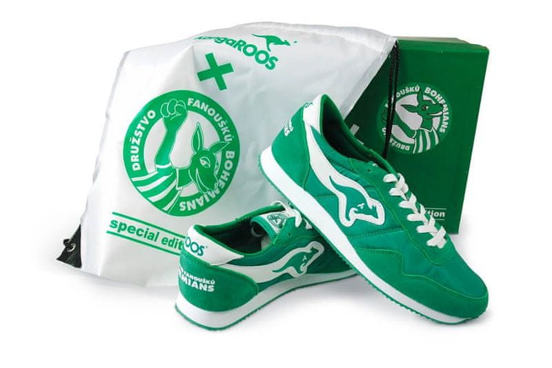 KangaROOS speciální tenisky pro fanoušky Bohemians 38 zelená