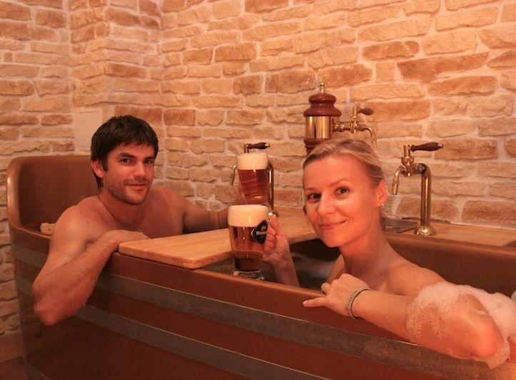 Poukaz Allegria - pivní koupel Bernard pro dva Praha 1