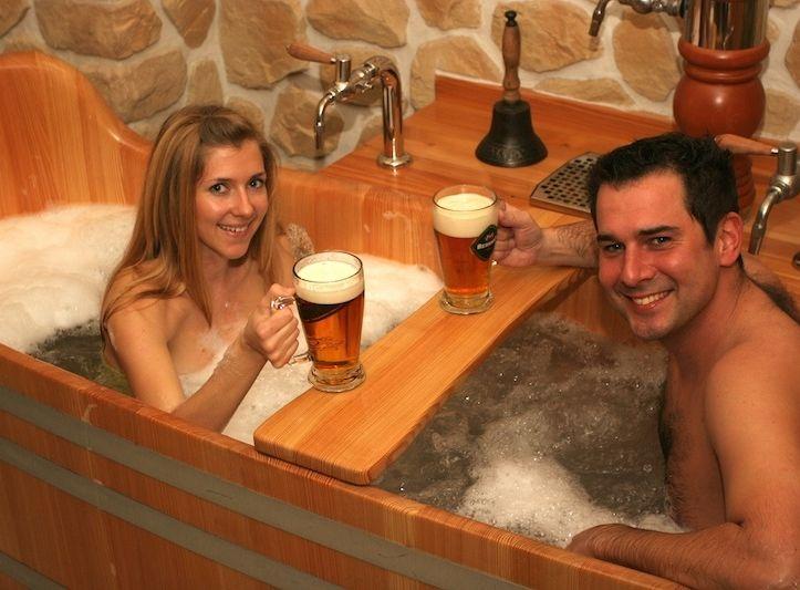 Poukaz Allegria - pivní koupel s masáží pro dva Praha 2