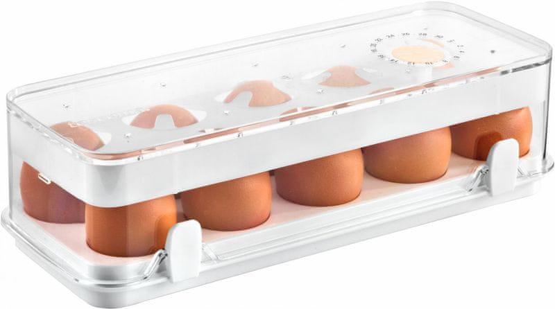 Tescoma Zdravá dóza do ledničky PURITY, 10 vajec