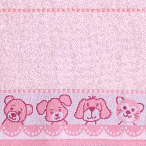 Greno Dětská osuška Medvídek new 70x125 cm, růžová