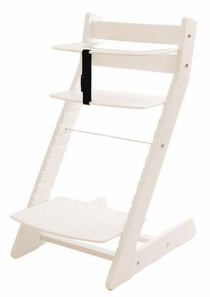 Wood Partner Dětská rostoucí židle UNIZE bílá - II. jakost
