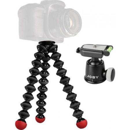 Joby stativ Gorillapod SLR Zoom, z glavo,rdeč