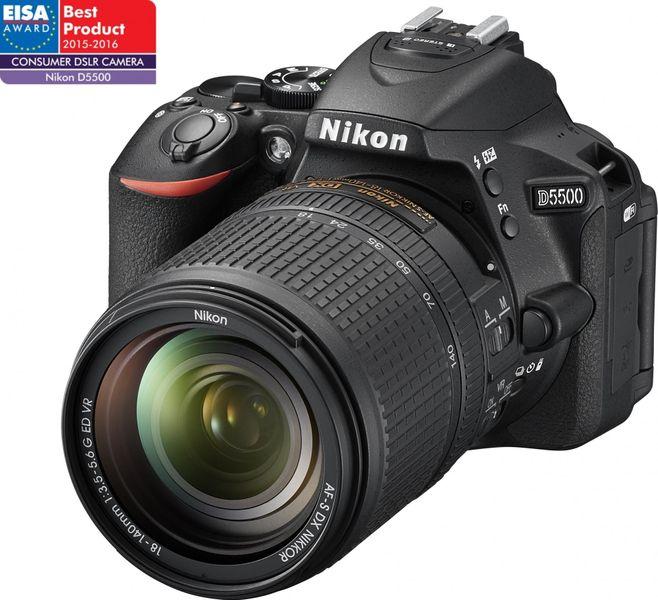 Nikon D5500 + 18-140 VR