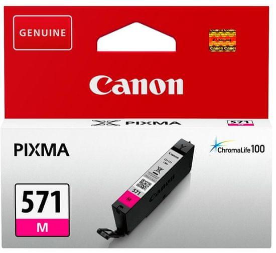 Canon kartuša 571, magenta (CLI-571M)
