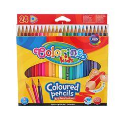 Pastelky trojhranné Colorino 24 ks