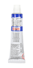 Barva temperová tuba 16 ml - ultramarin světlý (světle modrá)