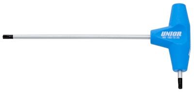 Unior garnitura ključev s TX profilom in T ročajem v kartonu - 193TXCS (607888)
