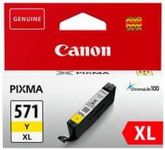 Canon kartuša 571 XL, rumena (CLI-571Y)