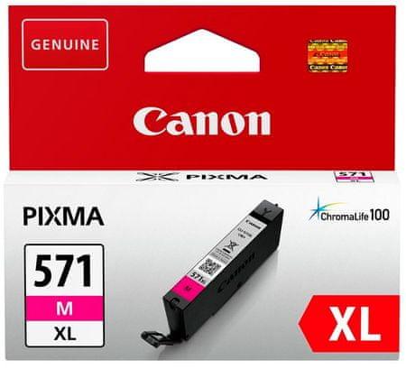 Canon tinta 571 XL, magenta (CLI-571M)