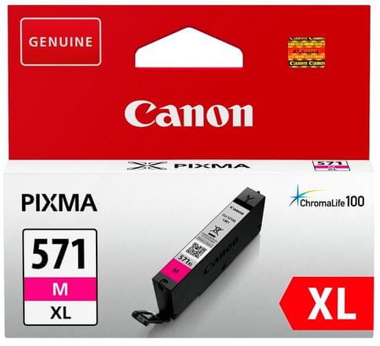 Canon kartuša 571 XL, magenta (CLI-571M)