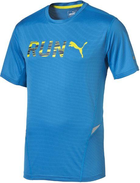 Puma Run S S Tee cloisonné L