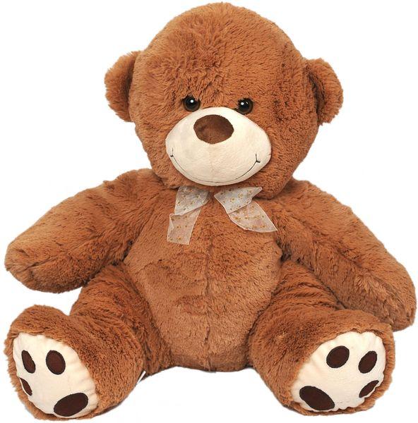Mac Toys Plyšový medvěd světle hnědý, 61 cm
