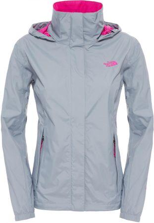The North Face jakna W Resolve, sivo/roza, M